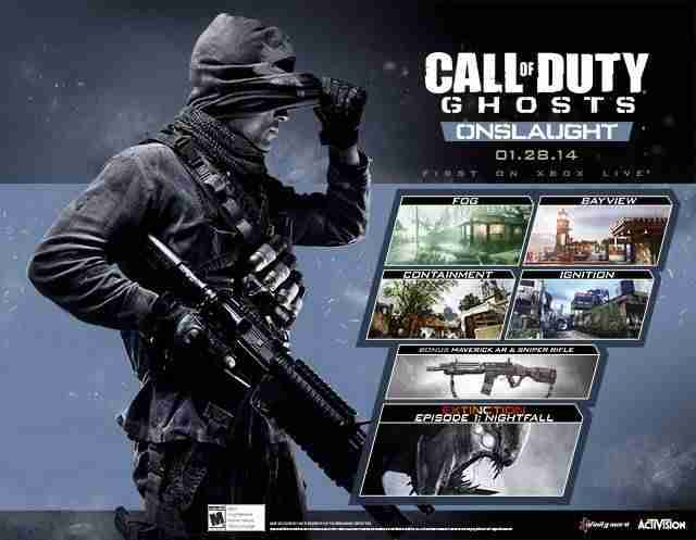 Descargar Call Of Duty Ghosts Onslaught [MULTI][Region Free][DLC][LiGHTFORCE] por Torrent